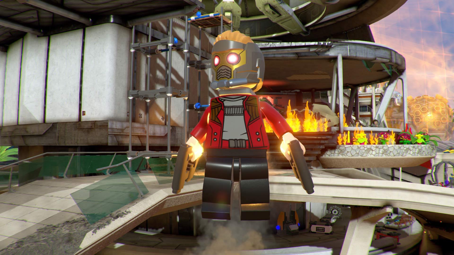 Starlord de LEGO