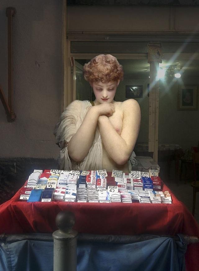 Comerciante de cigarros