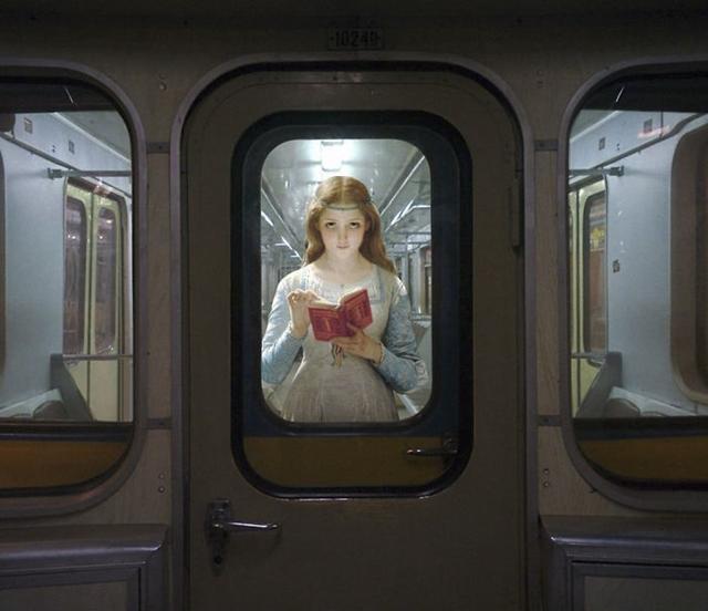 letrada do metrô