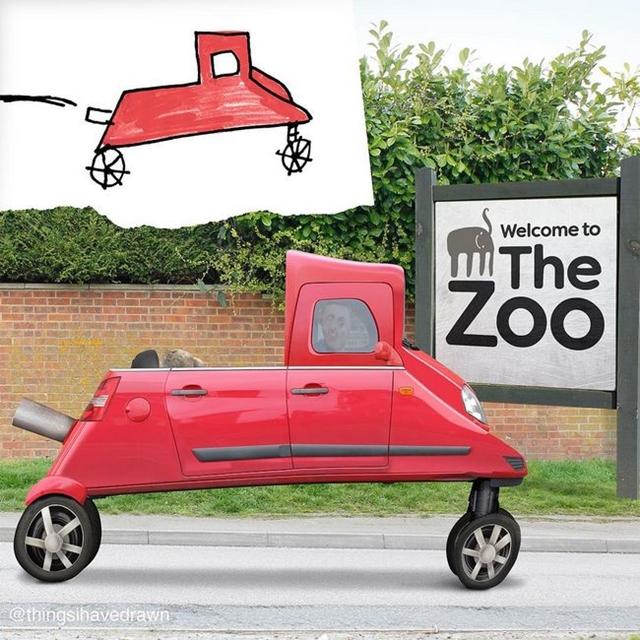Um passei ao zoológico