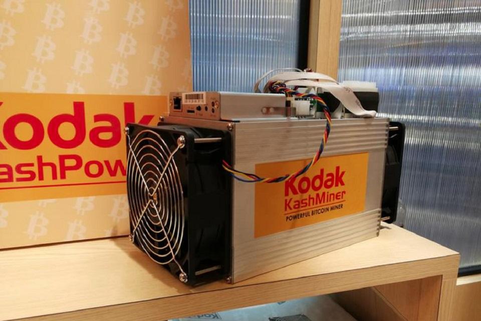 Kodak vai vender sua própria mineradora de bitcoins por US$ 3,4 mil