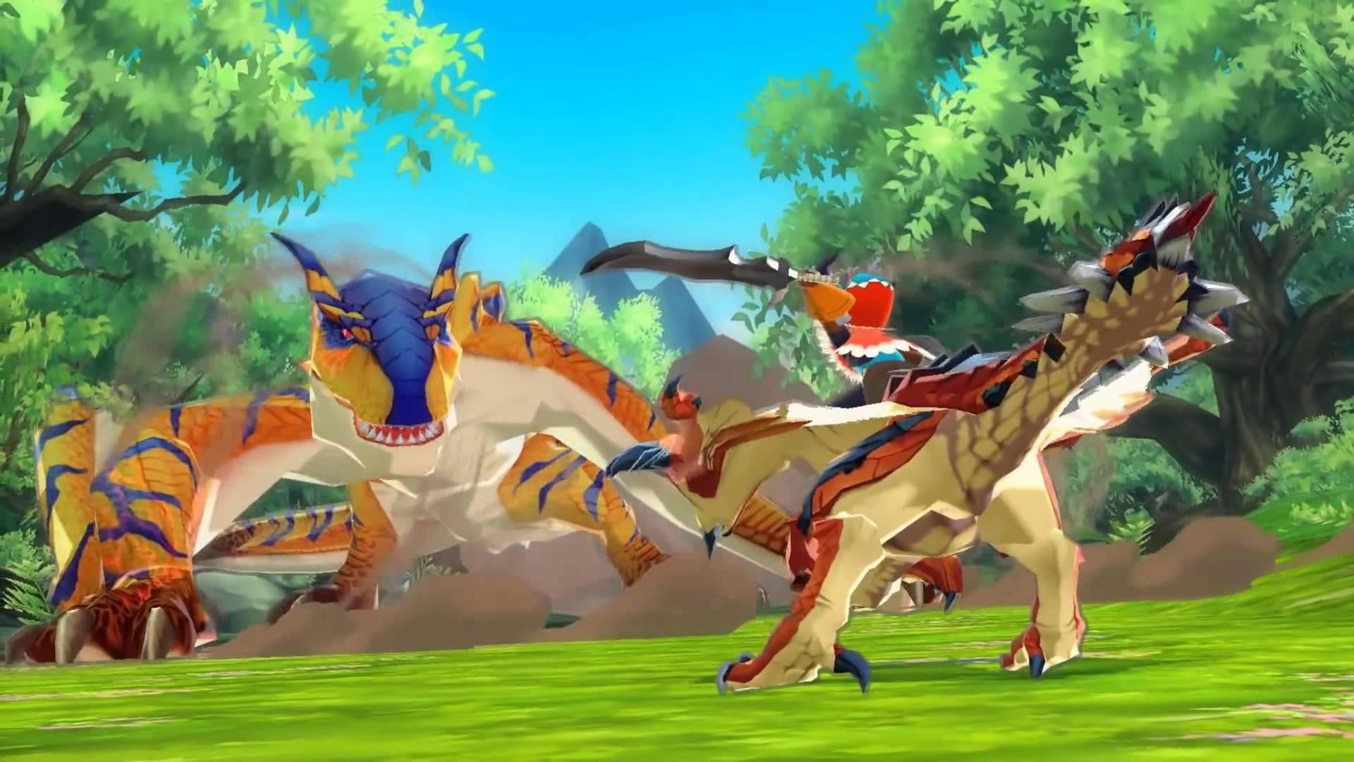 Monster Hunter Stories é o melhor RPG portátil desde Pokémon