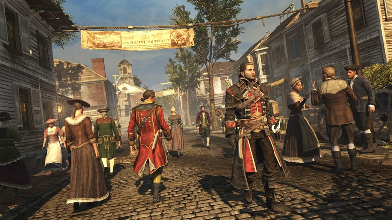 Ubisoft confirma remaster de Assassin's Creed: Rogue no PS4 e Xbox One