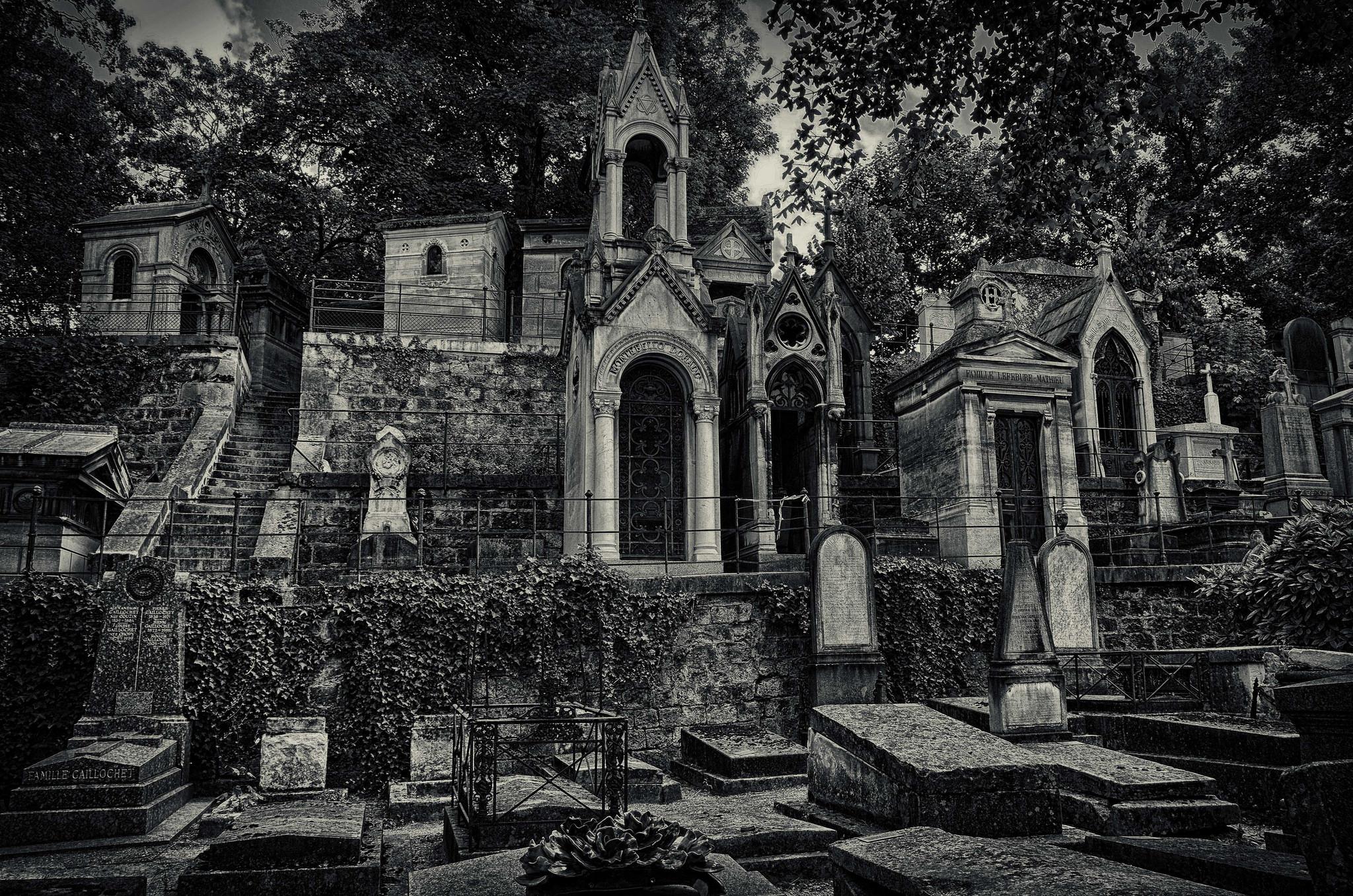 Cemitério sinistro