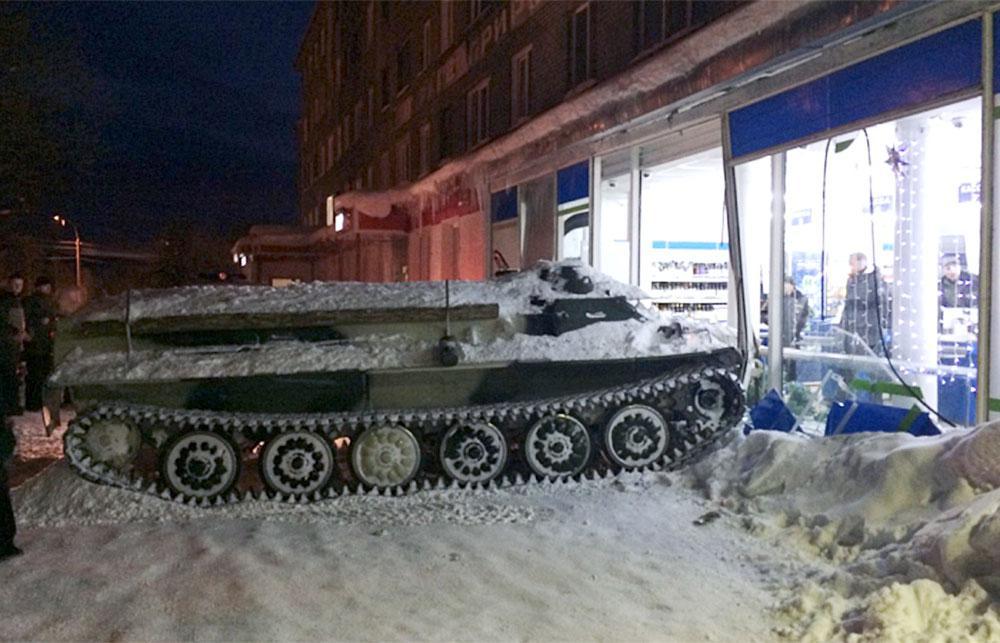 Tanque soviético