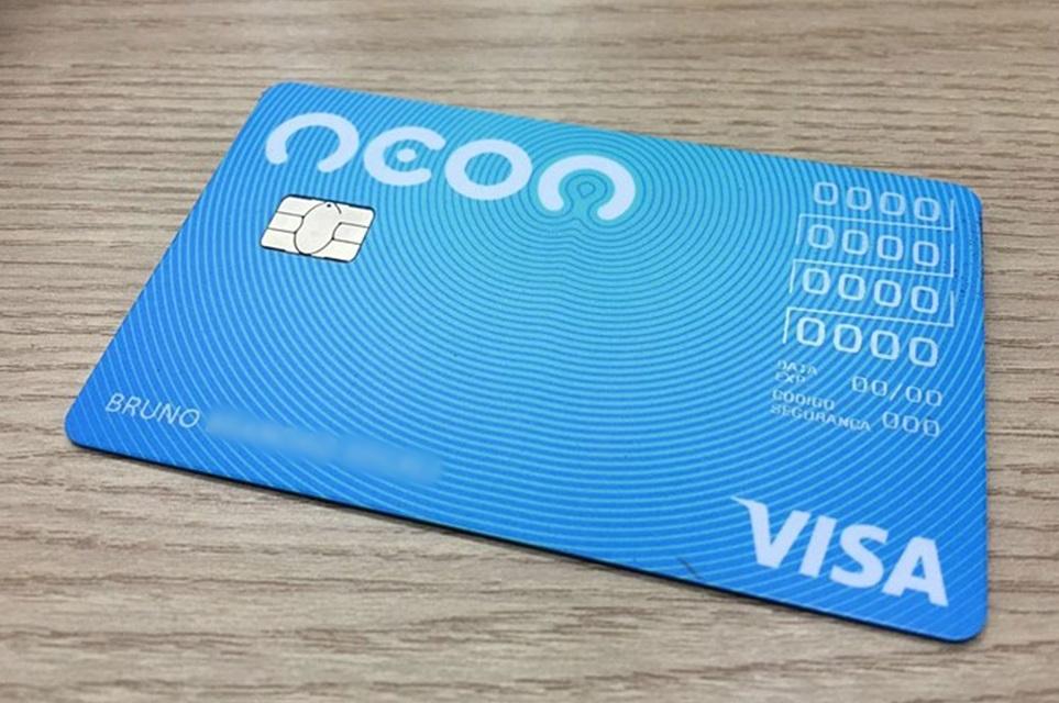 Resultado de imagem para Cartão de Crédito neon