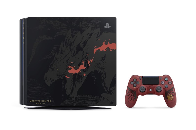 PlayStation 4 Pro temático de Monster Hunter World vai chegar ao Ocidente