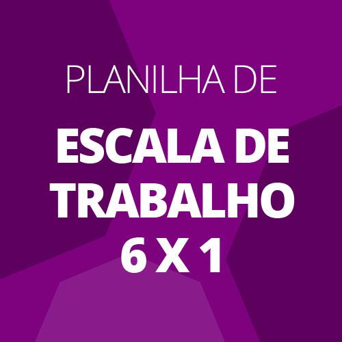 Planilha De Escala De Trabalho 6 X 1 Download Para Web Grátis