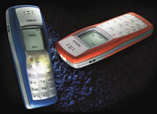Dois celulares.