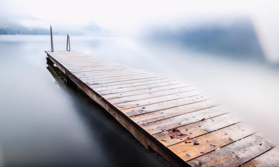 Ponte desfocada
