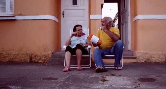 Sentar na calçada