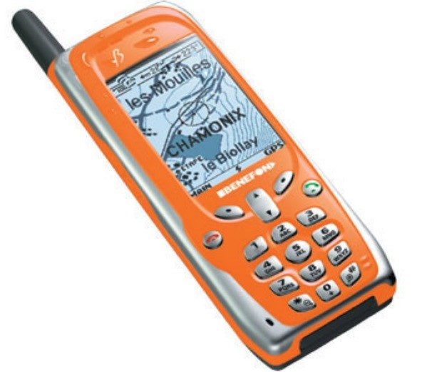 Um telefone.