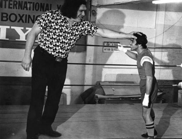 Bobby Chacon e André o Gigante