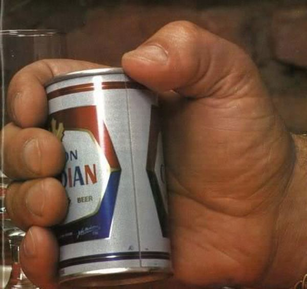 Latinha de cerveja