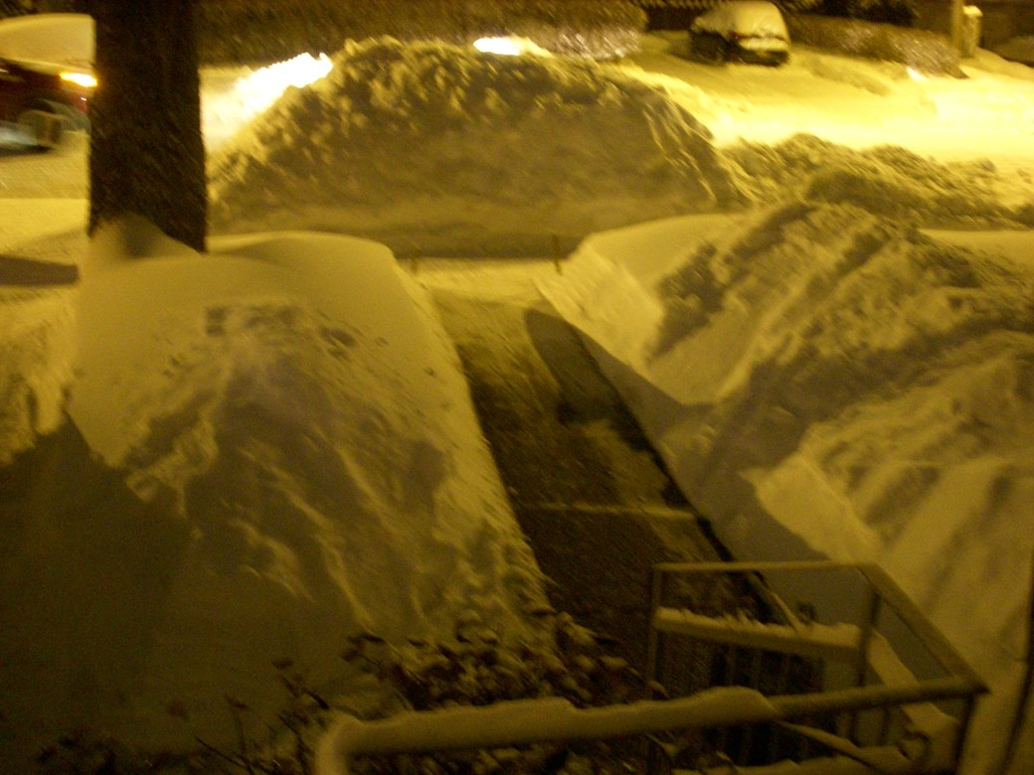 Monte de neve