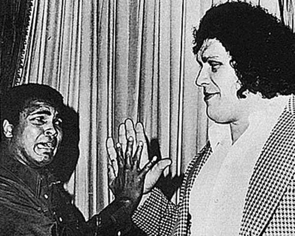 Muhammad Ali e André