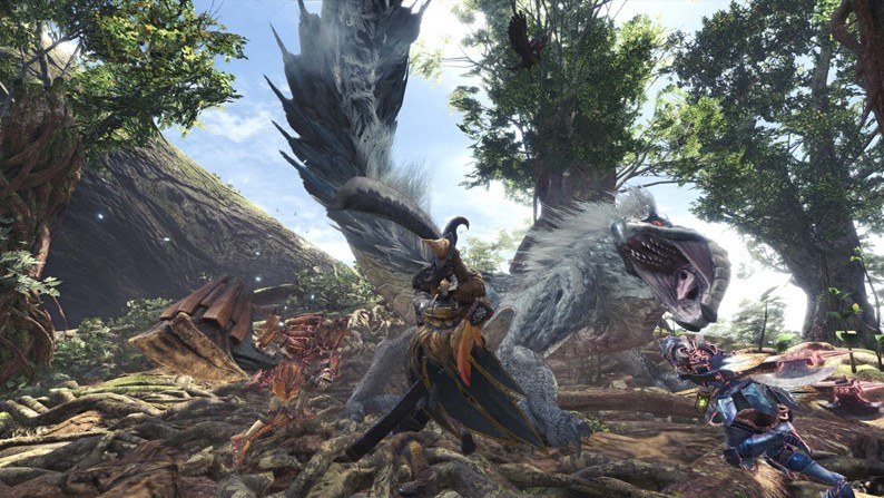 Capcom divulga detalhes do patch de Dia 1 de Monster Hunter World