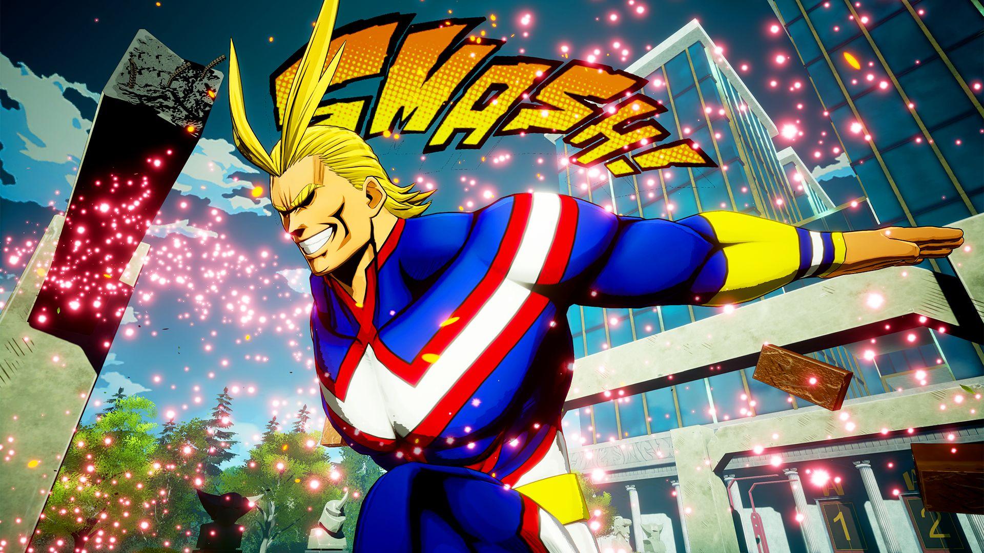 My Hero Academia: One's Justice ganha imagens de All Might, Midoriya e mais