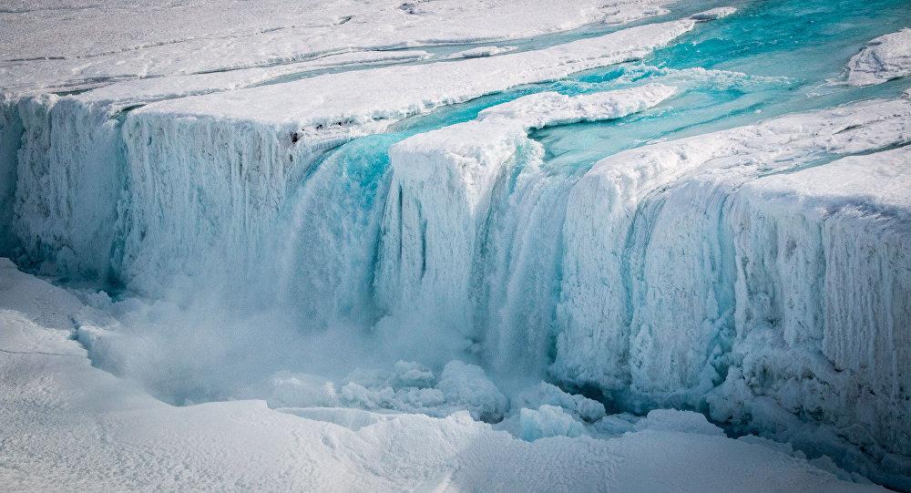Antártida derretendo