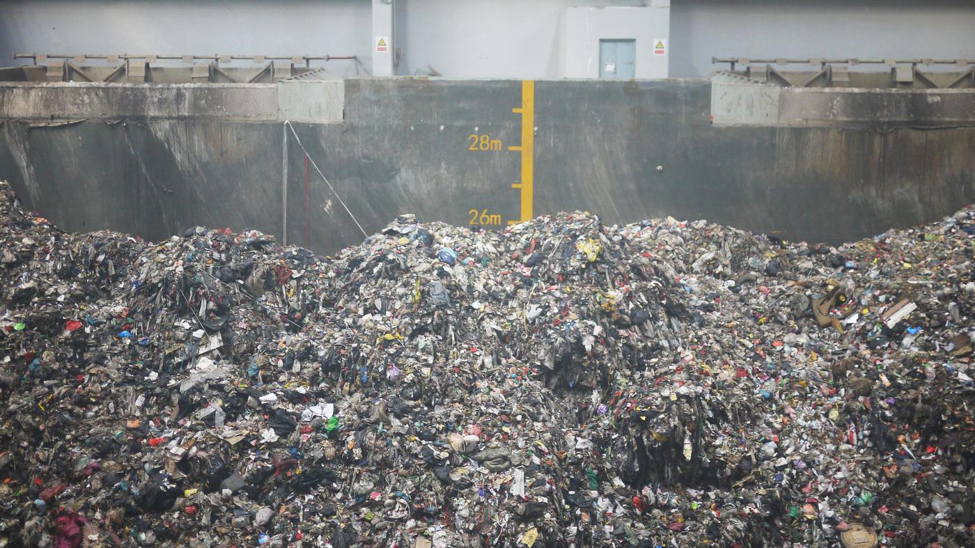 Toneladas de lixo