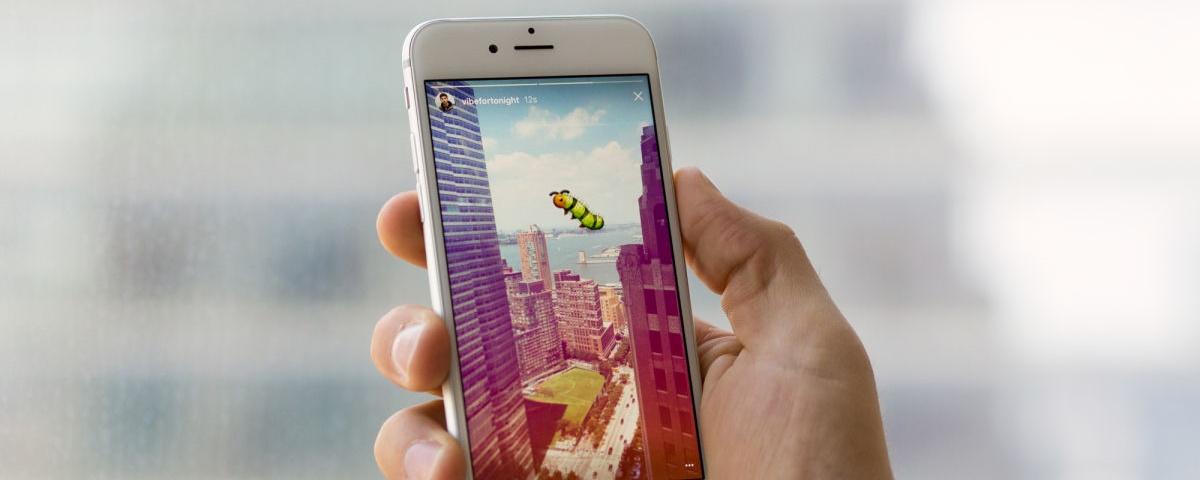 Instagram libera GIFs nos Stories para todos os usuários