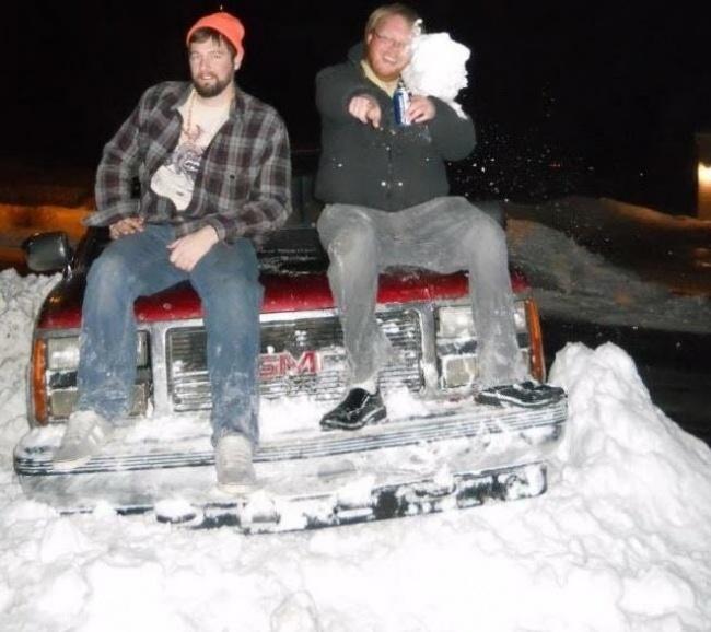 guerra de neve