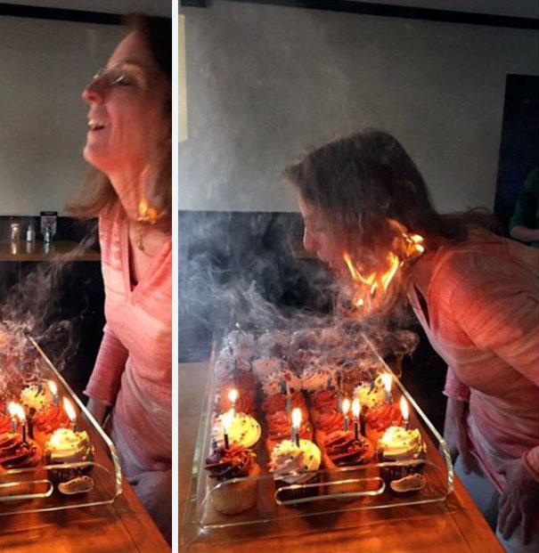 Cabelo queimado