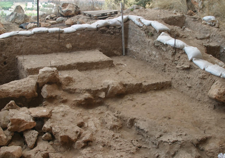 Caverna em Israel