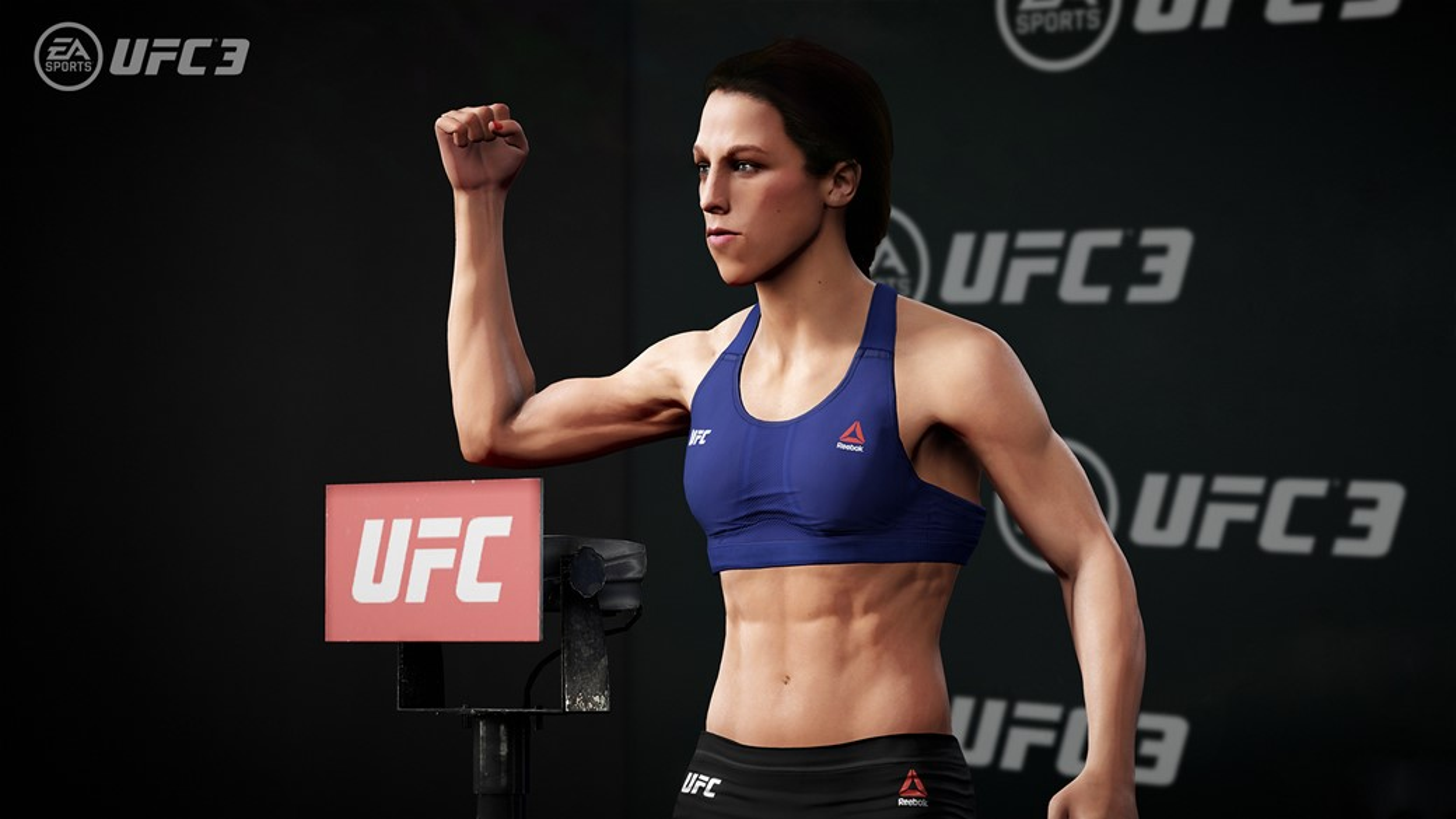 Lutadoras femininas no jogo
