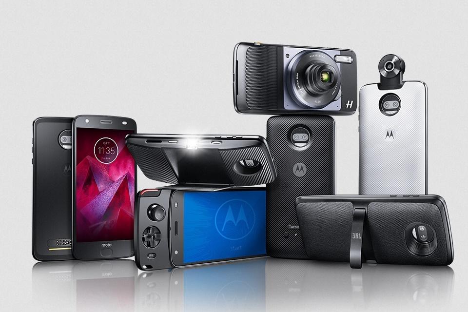 """Novos Moto Snaps chegando: """"câmera profissional"""", projetor melhorado e mais"""