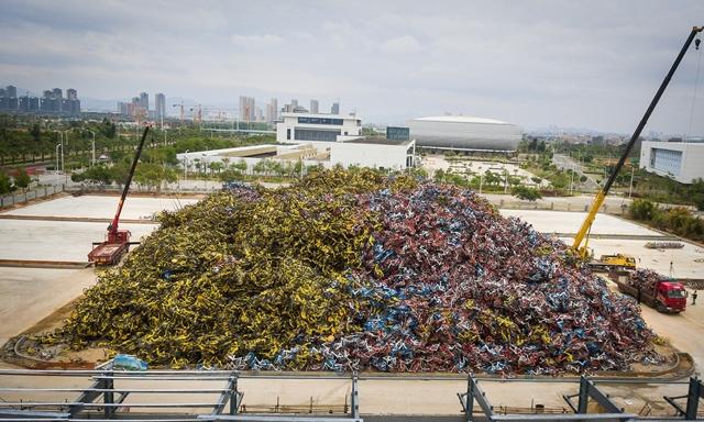 bicicletas inutilizadas