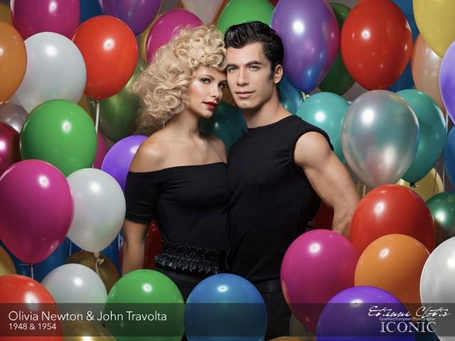 Olivia Newton e John Travolta
