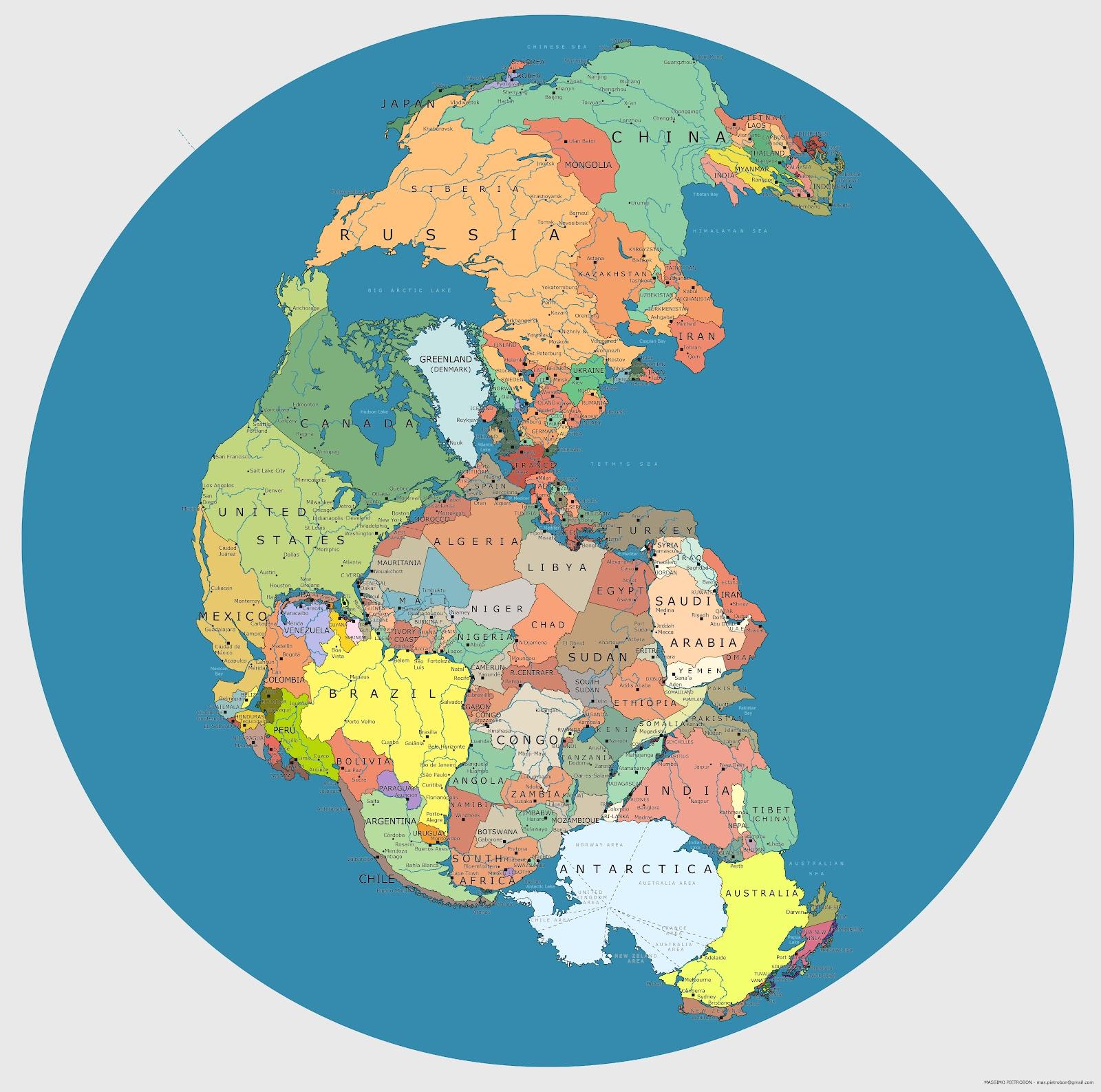 Supercontinente Pangeia