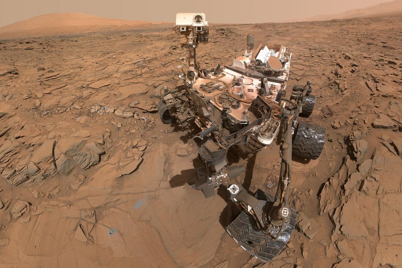 """Curiosity captura imagem panorâmica de um """"vale"""" inteiro em Marte; confira  - TecMundo"""