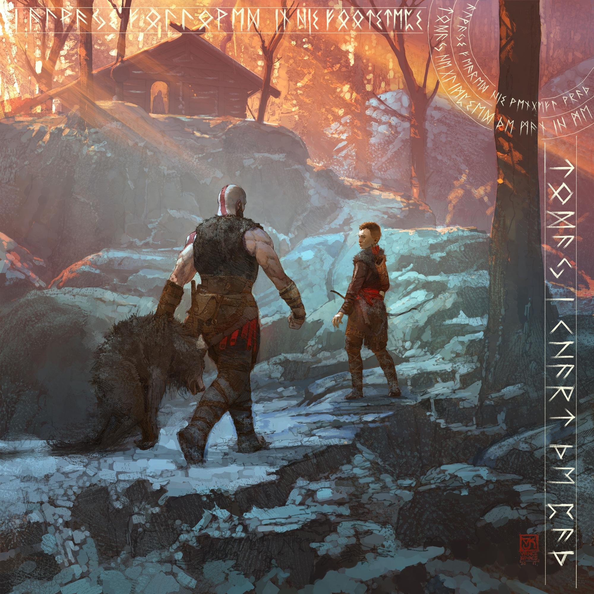 God of War ganha jogo em texto pelo Messenger e dá artes conceituais; veja