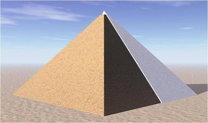 Revestimento da Pirâmide