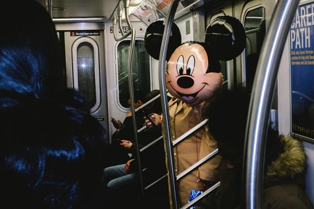 Mickey vai de ônibus