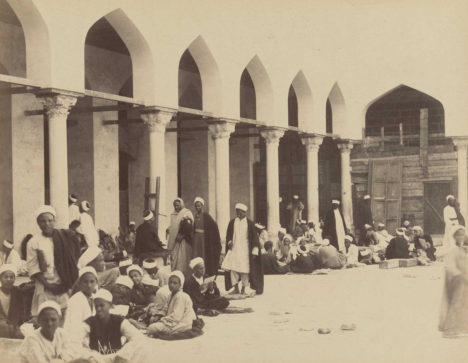 Mesquita Al-Azhar, no Cairo