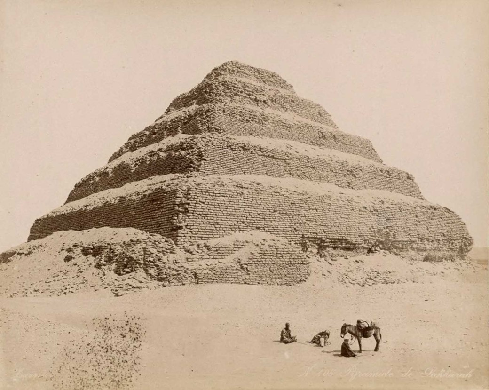 Pirâmide de Djoser em Saqqara