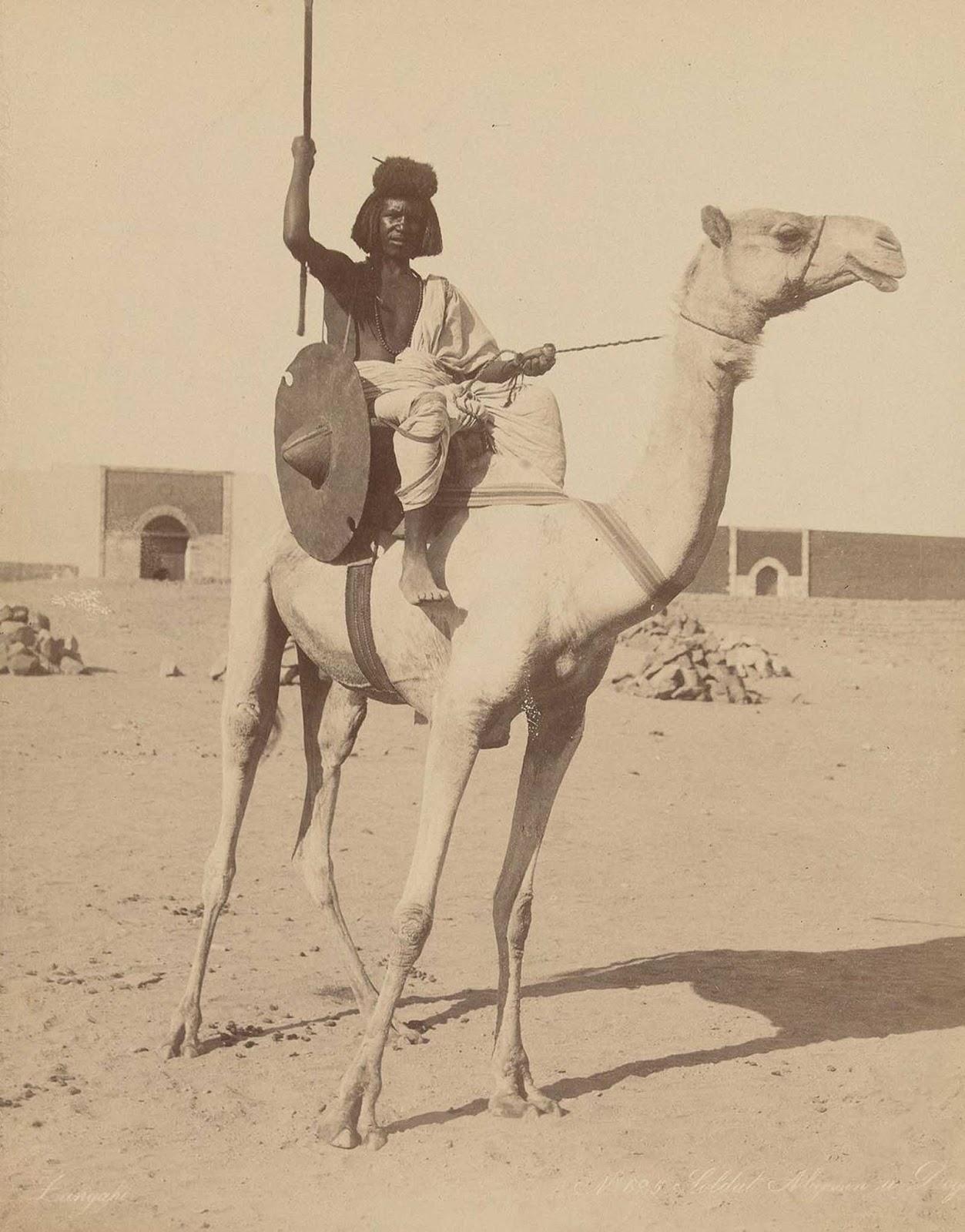 Soldado da tribo Bisharin