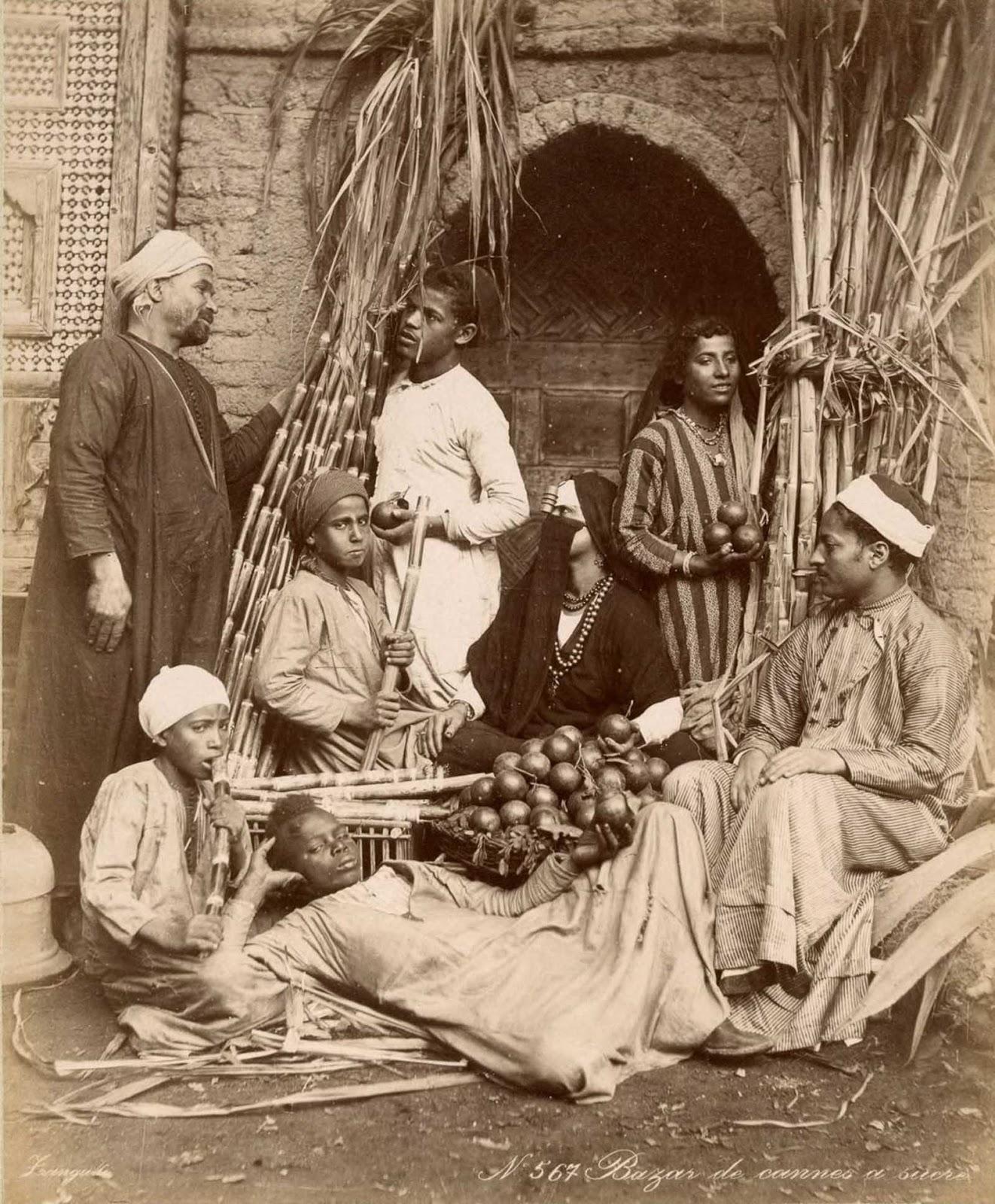 Vendedores em um mercado local