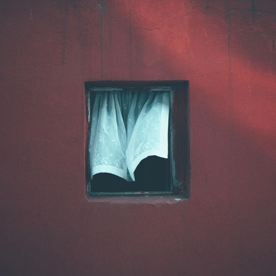 Janela e cortina