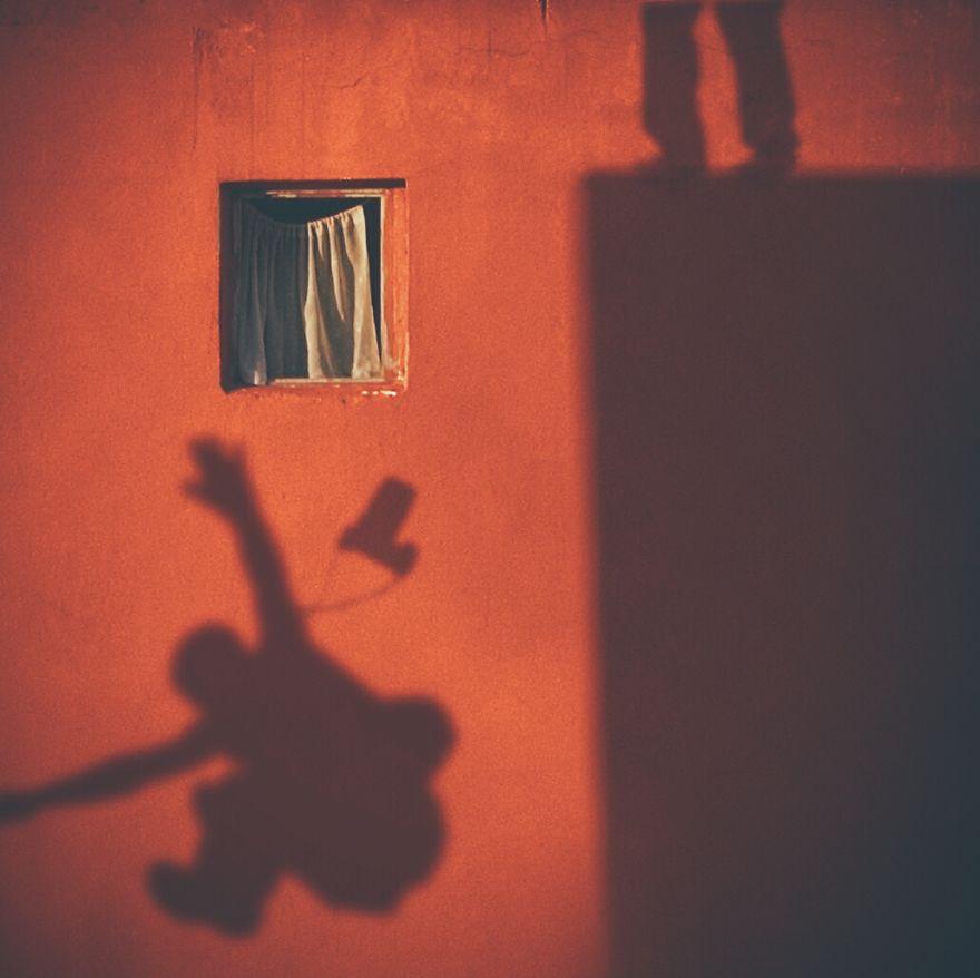 Janela e sombra