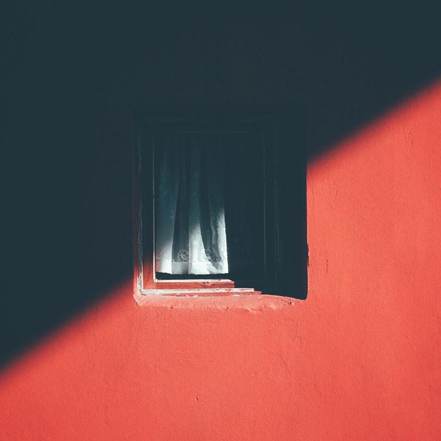 Janela na sombra