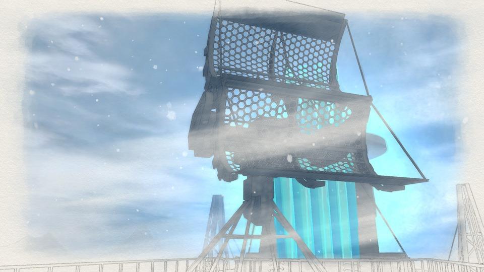 Em Valkyria Chronicles 4, você pode pedir suporte a um cruzador gigantesco