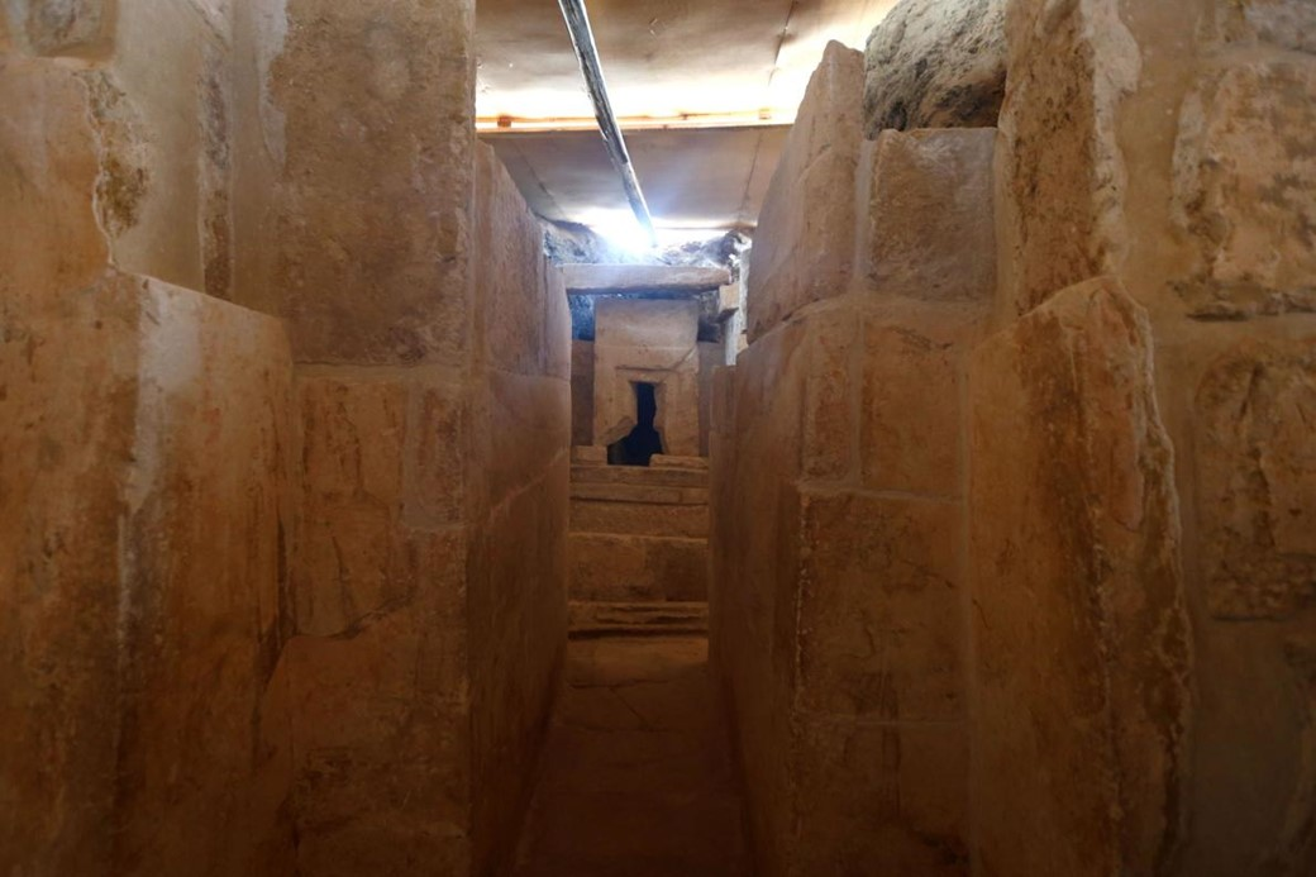 Tumba descoberta no Egito