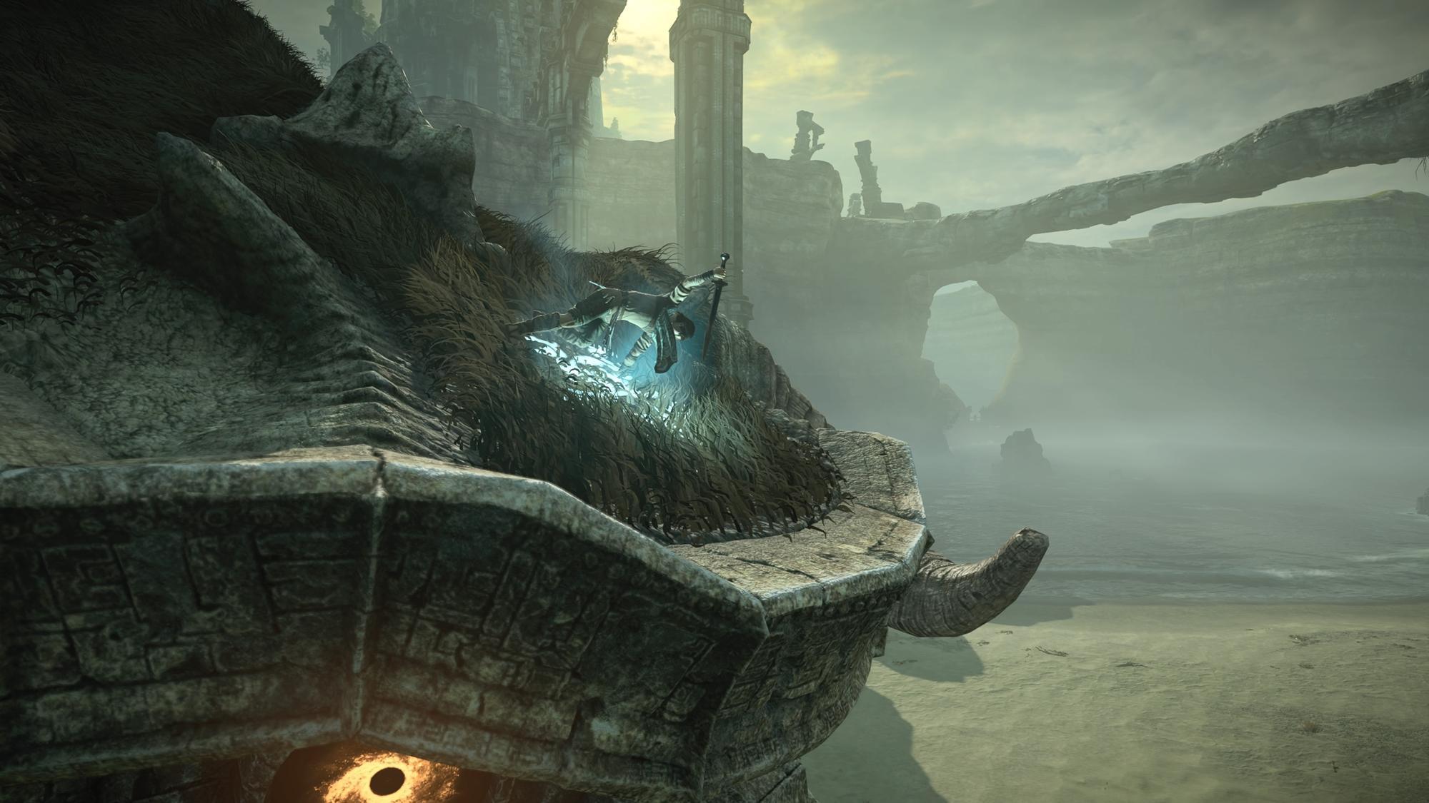 Shadow of the Colossus no PS4 respeita origens e detém marca da eternidade