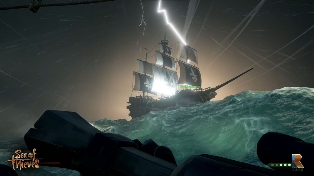 navio sea of thieves