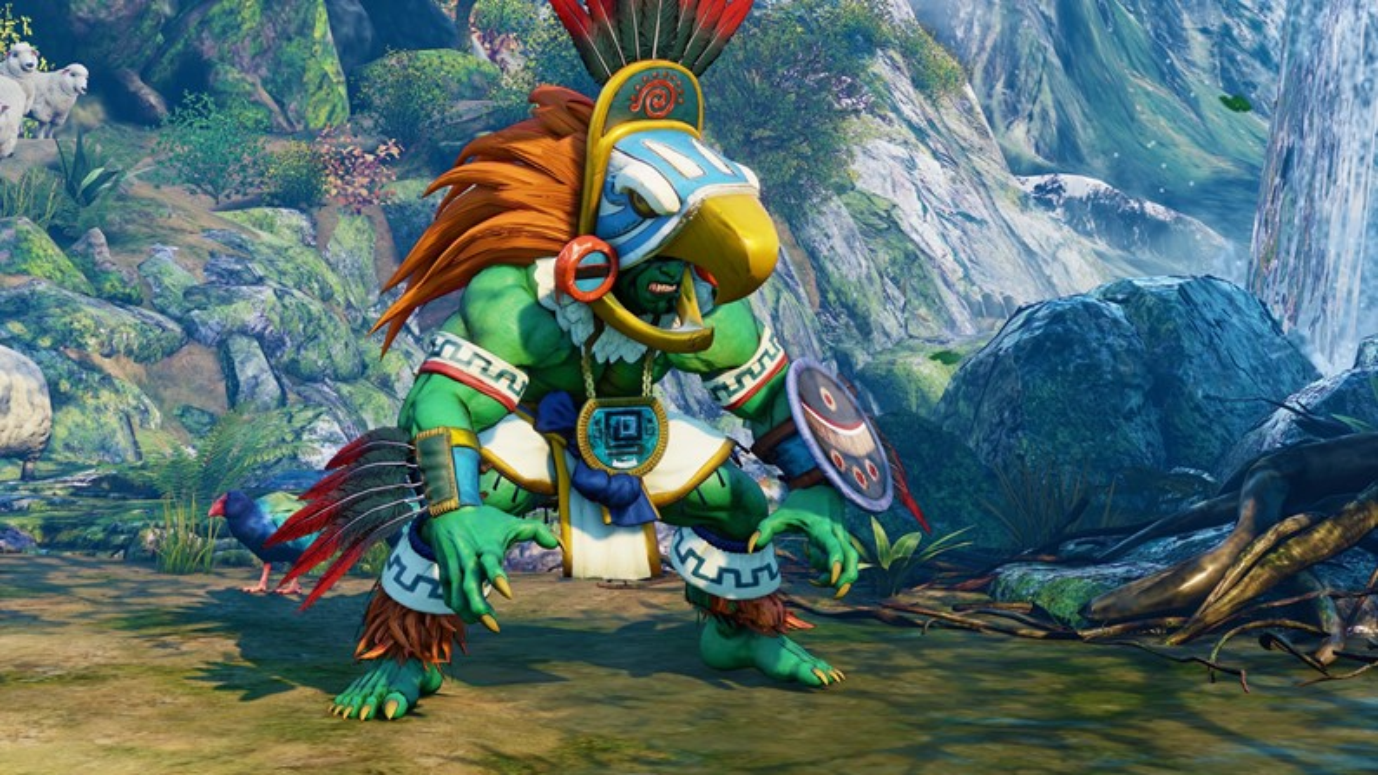 Poder brasileiro: Blanka chega a Street Fighter V na próxima semana