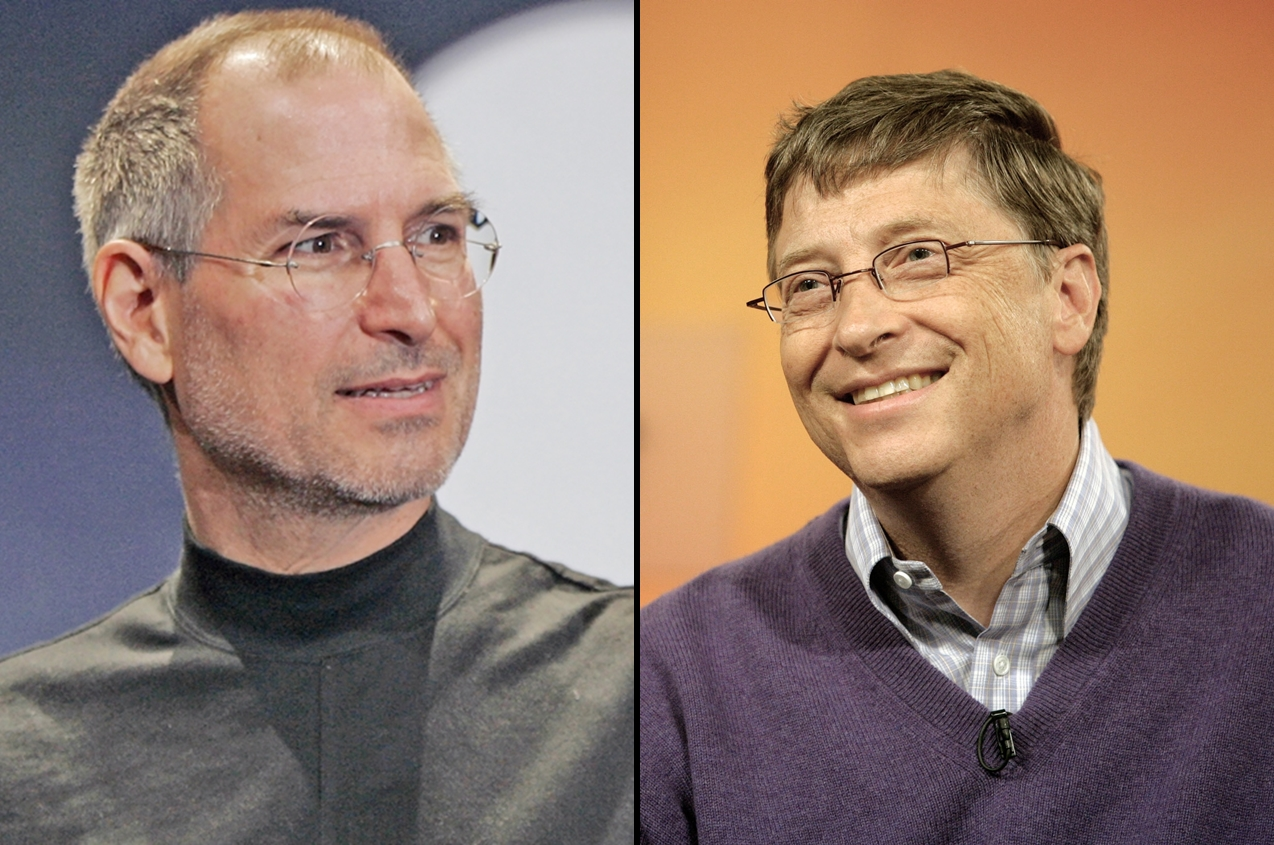 bill gates steve jobs unlocked It was a striking, yet subtle moment in gates' 60 minutes interview this week when charlie rose asked him about his longtime business rival, the late steve jobs gates grew emotional as he.
